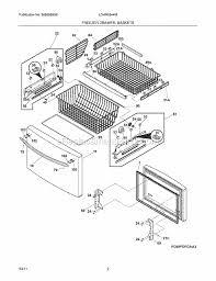 frigidaire lghn2844mf0 parts list and diagram ereplacementparts com