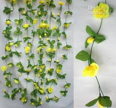 2018 50stem garlands artificial silk flower trailing plants
