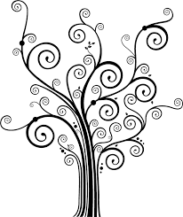 swirly tree clip clip library