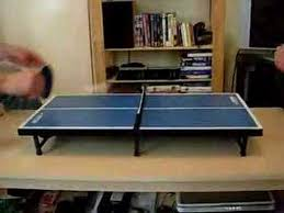Tiga Ping Pong Table by Super Mini Table Tennis Youtube