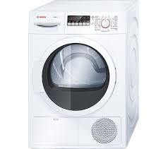 bosch maxx 8 wtb86300gb condenser tumble dryer white extension