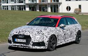 audi minivan 2018 audi rs4 avant spied testing near the nurburgring autoguide