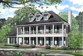 plantation style house stacked porches 5961nd architectural designs house plans