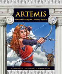 buy artemis goddess of hunting and protector of animals greek