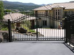 steel gates access systems driveway gates security