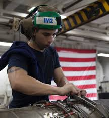 Aircraft Machinist Aboard The Ike Many Hands Keep Planes In Flight News Stripes