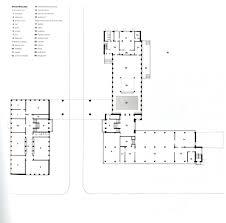 Machine Shop Floor Plan by Ad Classics Dessau Bauhaus Walter Gropius Walter Gropius
