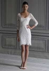 elegant short white wedding dress styles of wedding dresses