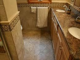 redo bathroom floor