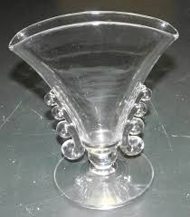 dã co mariage vintage vintage heisey glass co lariat pattern fan vase 7 3 8 1540 ebay