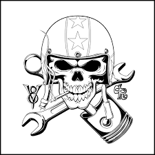 a logo and shirtdesign i made for a speedshop skull