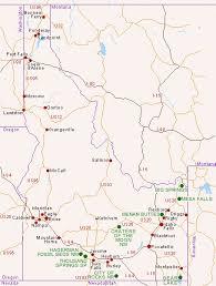 map of idaho map of idaho