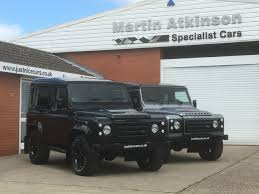 land rover defender black second hand land rover defender sold going to london for sale in