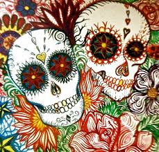 day of the dead home decor artist illustrator of all thing magical and creative hand