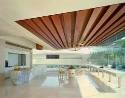 Gypsum Interior Ceiling Design 12 Best 14 Gypsum False Ceiling Design With Wooden Decorations For