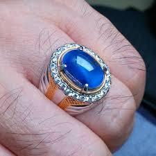 model cincin blue safir 11 best my gemstones images on gemstones rings and batu