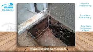 basement waterproofing and foundation repair youtube