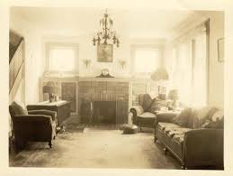 1930 home interior the hazy sepia tinted atmosphere the way it s orderly but still