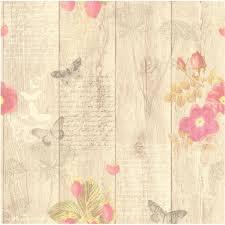 papier peint intissé pour cuisine papier peint papillons beige intissé cuisine et bain leroy