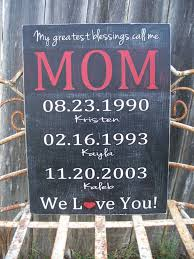 personalized mothers day gifts personalized mothers day gift greatest blessings custom
