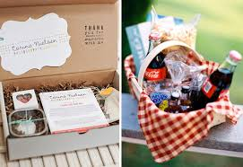 picnic basket ideas wedding weekend welcome packs em for marvelous