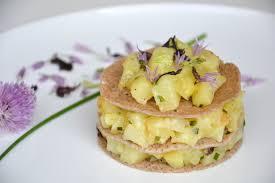 cuisiner les pommes de terre de noirmoutier gâteau de crêpes de blé noir aux pommes de terre aux algues de