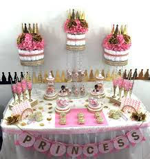 manificent design baby shower princess theme bright and modern