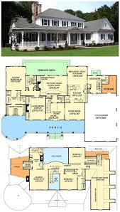 single story farmhouse house plans one designs level home lrg