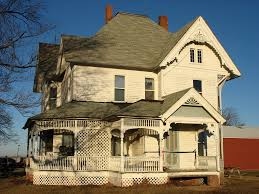 Farm Houses White Victorian Farm House On Highway 4 In Guthrie County U2026 Flickr