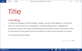 outlook word 2013 u2013 how to disable reading view for read only word