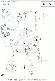 suzuki dr250s 1983 d wiring harness schematic partsfiche