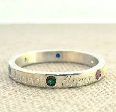 one mothers ring this is the one mothers day birthstone ring name and birthstone