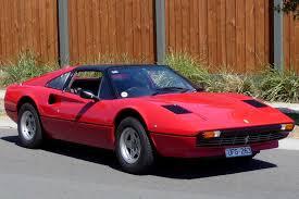 ferrari 308 gts u0027targa u0027 coupe auctions lot 31 shannons