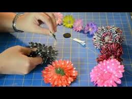flower for hair how to make custom hair flower