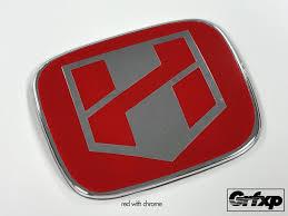 jdm mitsubishi logo h blade logo individual jdm emblem color changing overlays