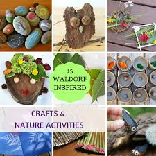15 ultimate waldorf inspired crafts and nature activities for kids