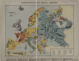 World War 1 Map Of Europe by World War I Propaganda Maps In The National Library Of Russia