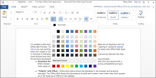 bringing touch editing to office web apps on windows 8 and ios