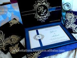 royal wedding cards velvet royal wedding invitation with gold floral embroidery buy