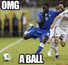 Soccer Player Meme - soccer player scared of a ball meme