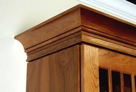 decorative molding kitchen cabinets adding crown molding to kitchen cabinets before after wooden home