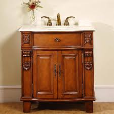 Vanity Furniture Bathroom Stylish Bathroom Single Vanity Cabinets With Single Sink