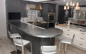 artisan cast zinc countertops and hoods brooks custom