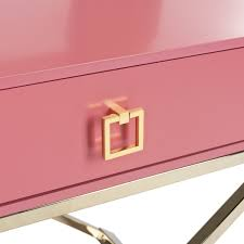 Pink Accent Table Fox6295a Accent Tables Furniture By Safavieh