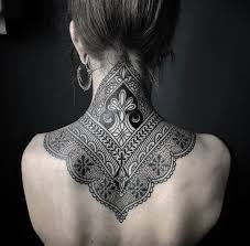 Back Neck Tattoos For - best 25 henna neck ideas on ideas