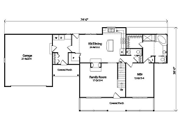 farmhouse style house plan 3 beds 2 50 baths 1897 sq ft plan 22 507