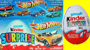 wheels 2013 unboxing kinder surprise eggs limited edition