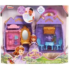amazon com disney sofia the first bedroom castle case toys u0026 games