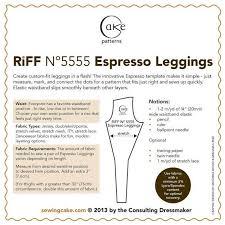 5555 expresso leggings pdf u2013 sewing cake patterns
