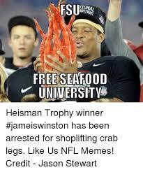 Fsu Memes - fsu tuna free seafood university heisman trophy winner